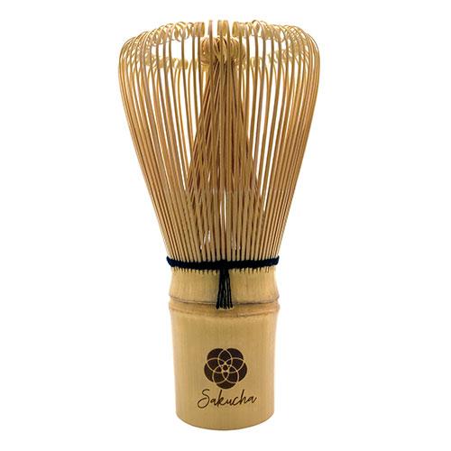 Sakucha chasen matcha whisk handcrafted bamboo